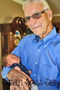 Dad and a great-grandson